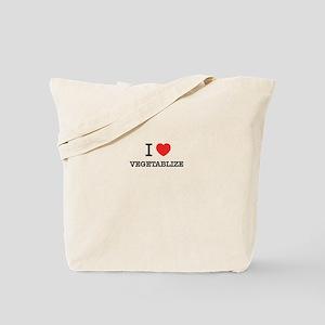 I Love VEGETABLIZE Tote Bag