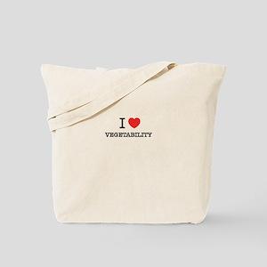 I Love VEGETABILITY Tote Bag