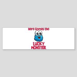 Lucky Monster Bumper Sticker