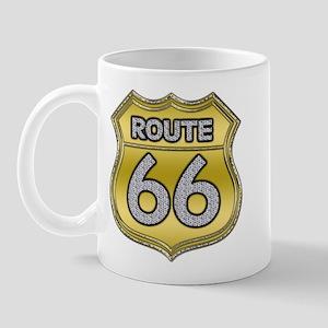 Route 66 - Bling Mug