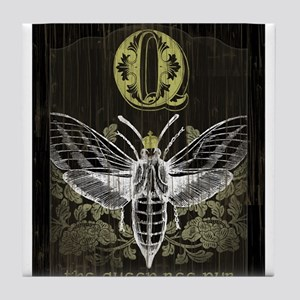 """Queen Bee Pub"" Tile Coaster"