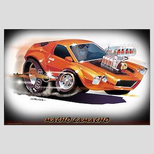 Macho Camacho Large Poster