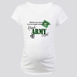 Proud Army Mom Maternity T-Shirt