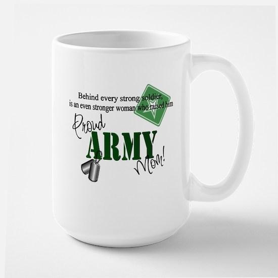 Proud Army Mom Large Mug