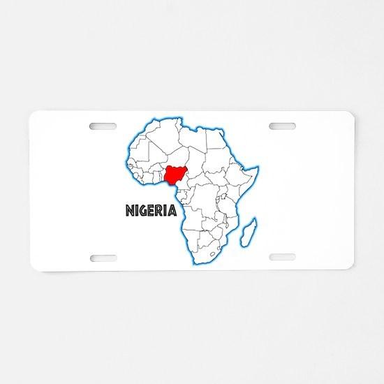 Nigeria Aluminum License Plate