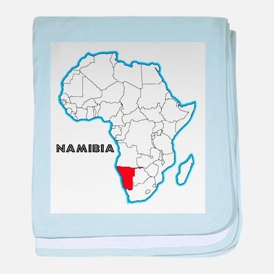 Namibia baby blanket