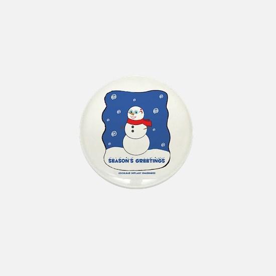 Funny Deafness Mini Button