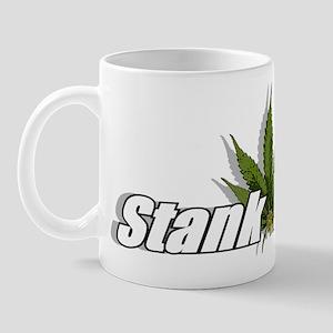 """""""Stank Dank Leaf Logo"""" Mug"""