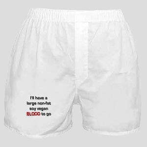 Nonfat Soy Vegan Boxer Shorts