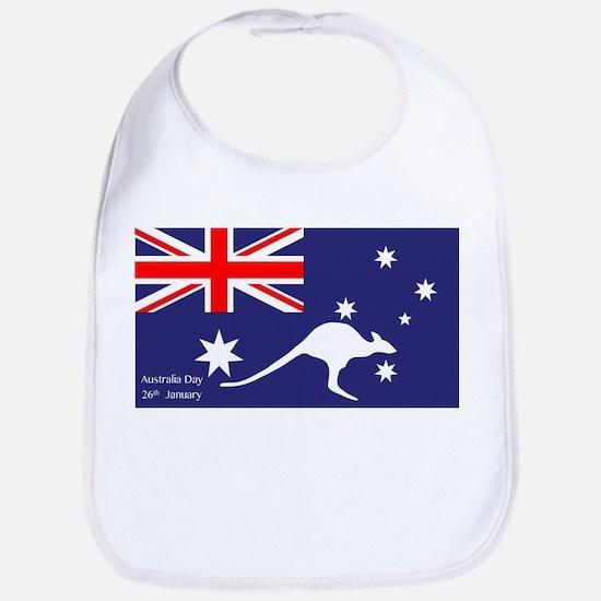 Australia Day Kangaroo Bib