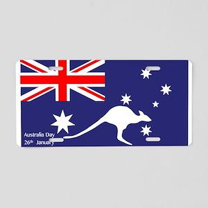 Australia Day Kangaroo Aluminum License Plate
