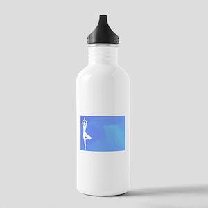 Ocean Yoga Scene Stainless Water Bottle 1.0L