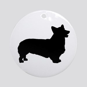 Pembroke Welsh Corgi Ornament (Round)