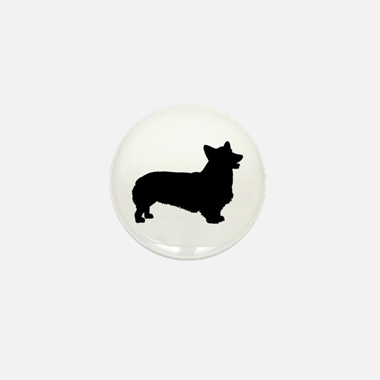 Pembroke Welsh Corgi Mini Button