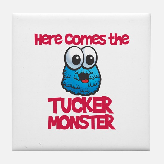 Tucker Monster Tile Coaster