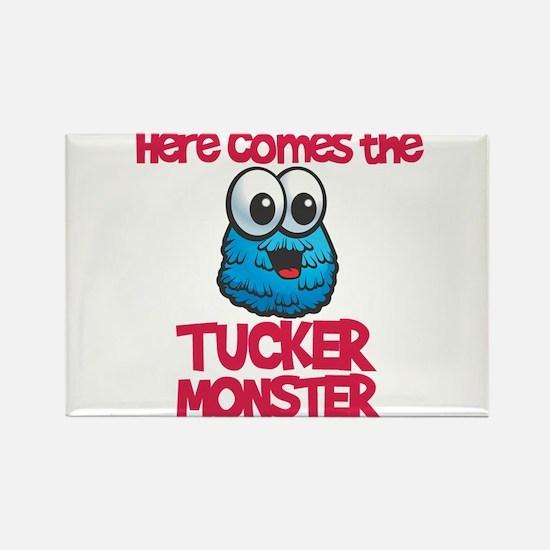Tucker Monster Rectangle Magnet