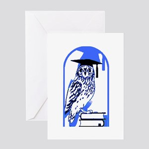 Smart Owl 2 Greeting Card