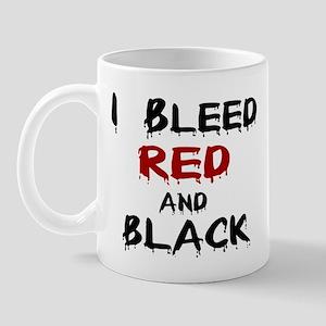 I Bleed Red & Black Mug