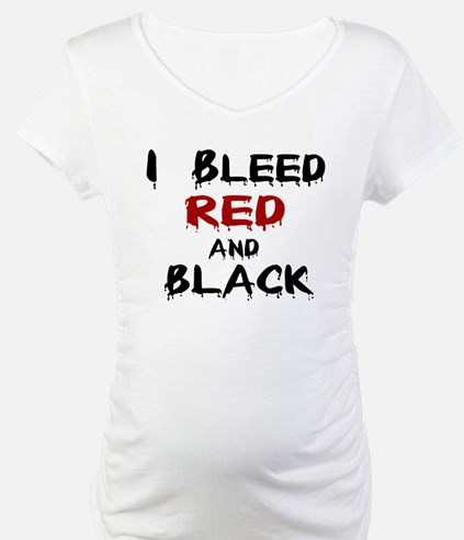 I Bleed Red & Black Shirt