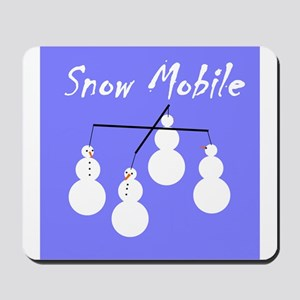 Snow Mobile Mousepad