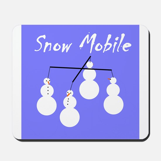 Snow Mobile Mousepad
