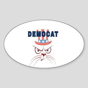 DEMOCAT Sticker