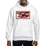 Keeshond - Old Car Christmas Hooded Sweatshirt