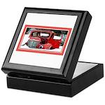 Keeshond - Old Car Christmas Keepsake Box