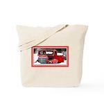 Keeshond - Old Car Christmas Tote Bag