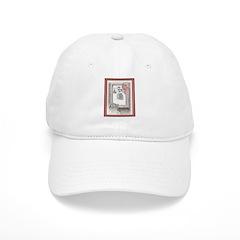 Keeshond - Christmas Baseball Cap