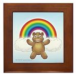 Cubby's Framed Tile