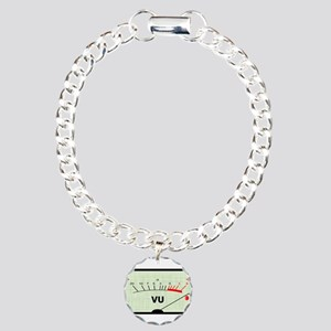 Needle In The Red Charm Bracelet, One Charm