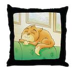 Kim's Throw Pillow