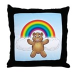 Cubby's Throw Pillow