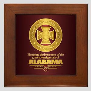 Alabama SCH Framed Tile