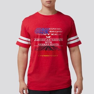 American Grown With German Roots T-Shirt