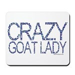 Crazy Goat Lady 2 Mousepad