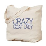 Crazy Goat Lady 2 Tote Bag