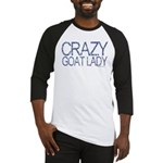 Crazy Goat Lady 2 Baseball Jersey