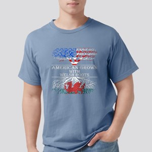 American Grown With Welsh Roots T-Shirt