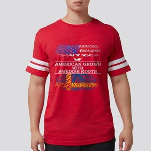 American Grown With Swedish Roots T-Shirt