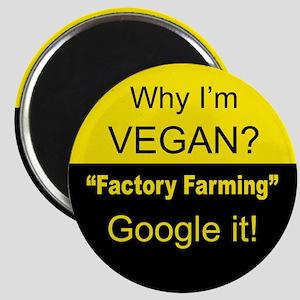 Factory Farming -Google it! Magnet