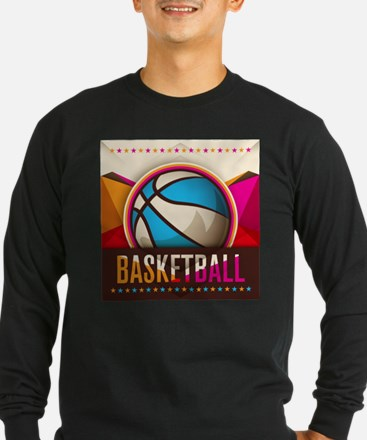 Basketball Sport Ball Game Coo Long Sleeve T-Shirt