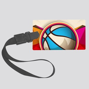 Basketball Sport Ball Game Cool Large Luggage Tag