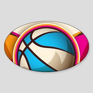 Basketball Sport Ball Game Cool Sticker