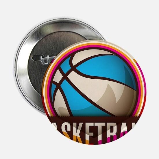 "Basketball Sport Ball Game 2.25"" Button (100 pack)"
