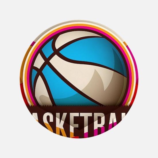Basketball Sport Ball Game Cool Button