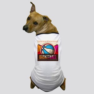 Basketball Sport Ball Game Cool Dog T-Shirt