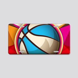 Basketball Sport Ball Game Aluminum License Plate