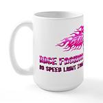 High Heel Racing Large Mug